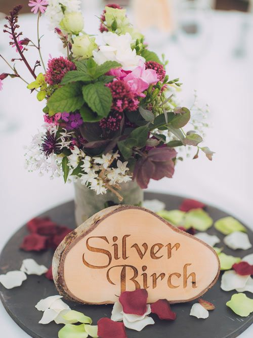Rustic Slice Table Names